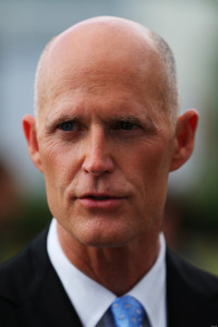 Rick Scott is a few points ahead of Charlie Crist!