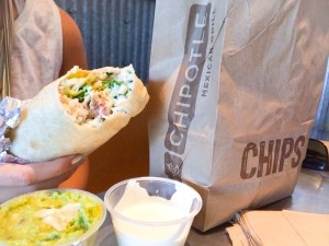 """Chipotle is the place to go!"""