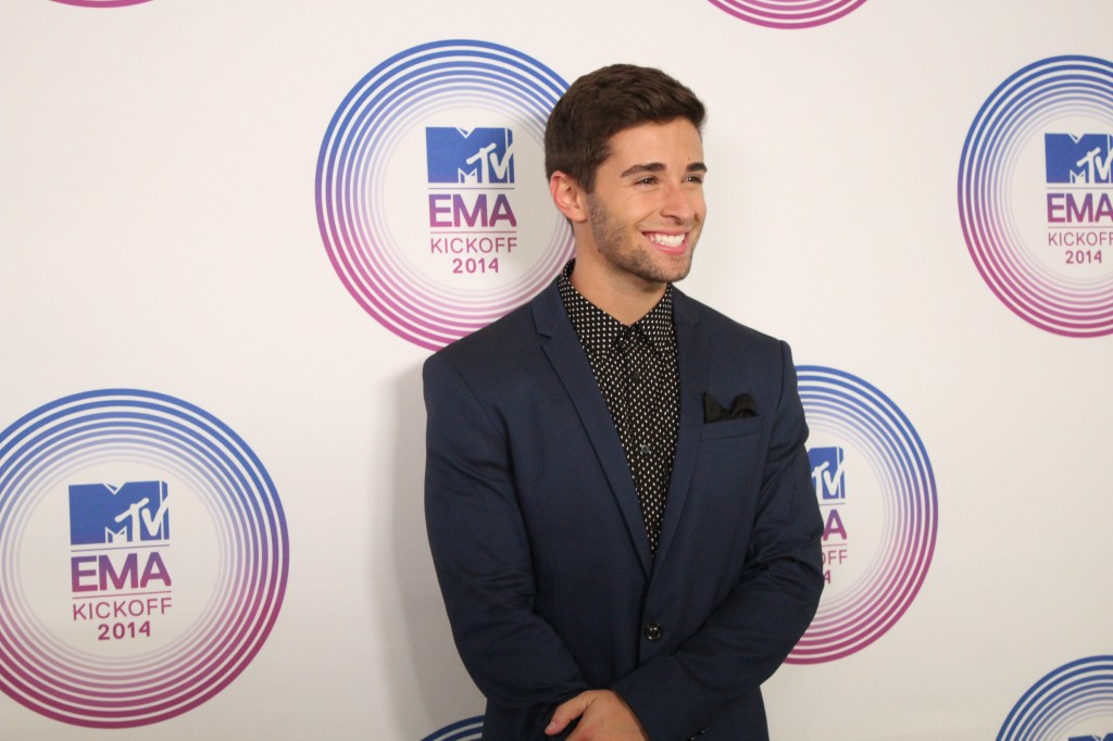 Jake Miller performs at the MTV EMA Kickoff in Miami, FL. Staff Photo/ B.Rudisill.