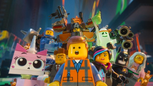 "Above: ""The Lego Movie"" characters are just as surprised about their lack of nomination as we are. Stock Photo."