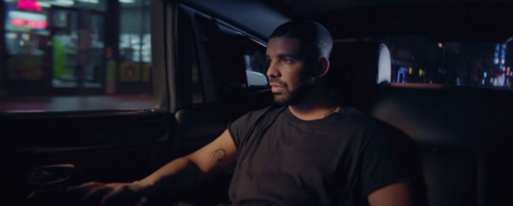 Above: Drake releases a brand new visual journey displayed all throughout a sequence of music videos. Stock Photo.