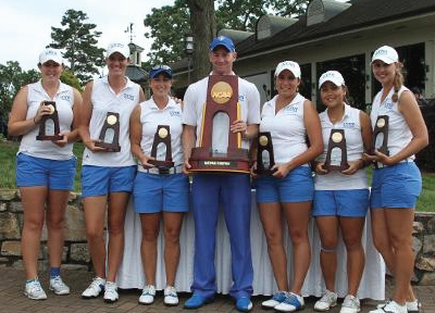 Above: The Women's Golf team won last year. LU Photo.