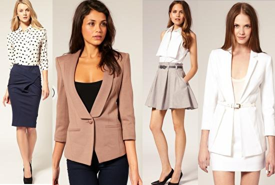 Above: There are many different ways for men and women to dress professional for an interview or internship. Stock Photo.