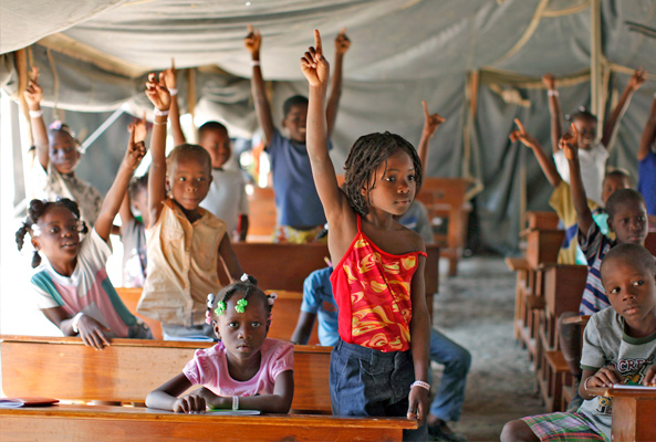 Hold on Haiti's Education
