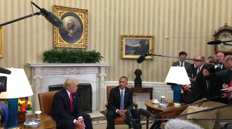 Trump Meets with Obama 1