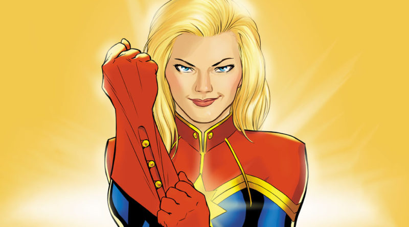 Captain Marvel Website Photo