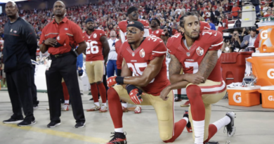 Taking A Knee In The Midst Of Racial Conflict