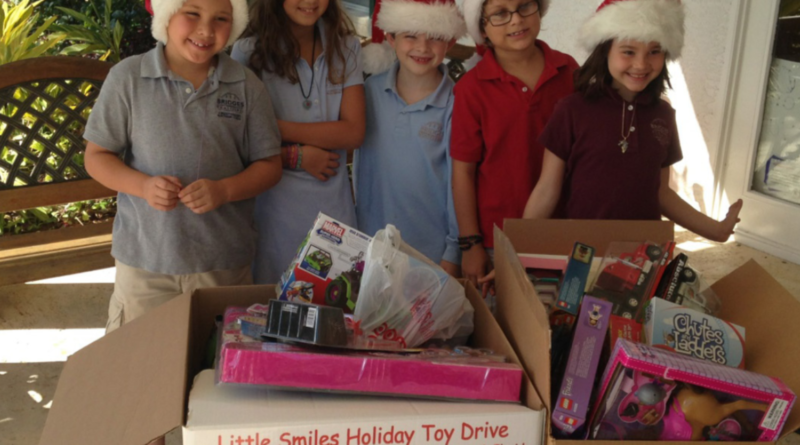 Social Media Class Leads Little Smiles Toy Drive